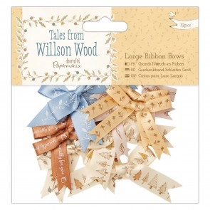 Large Ribbon Bows (12pcs) -Tales from Willson Wood