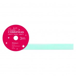 Velvet Ribbon (3m) - Pale Blue - Create Christmas