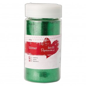 Large Glitter Pots (250g) - Green