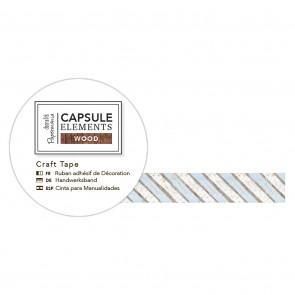 3m Craft Tape - Elements Wood - Stripe
