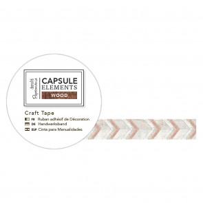 3m Craft Tape - Elements Wood - Chevron