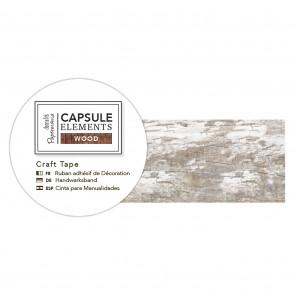 3m Craft Tape - Elements Wood - White Plank
