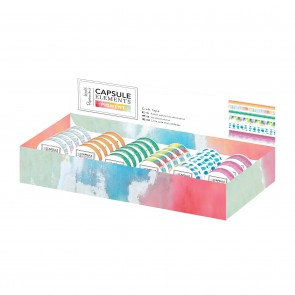 Craft Tape Dispenser (60pcs) - Capsule Collection - Elements Pigment