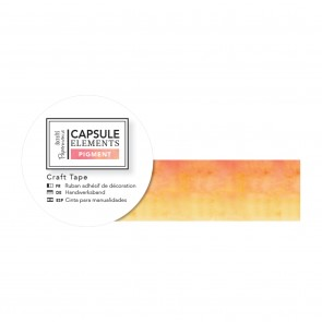 Craft Tape (3m) - Capsule Collection - Elements Pigment - Orange Ombre