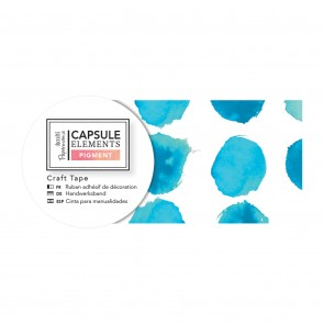 Craft Tape (3m) - Capsule Collection - Elements Pigment - Blue Dot