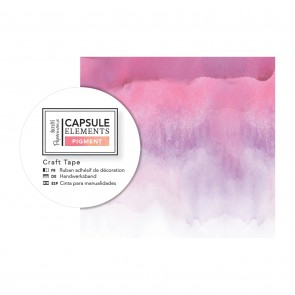 Craft Tape (3m) - Capsule Collection - Elements Pigment - Pink Ink
