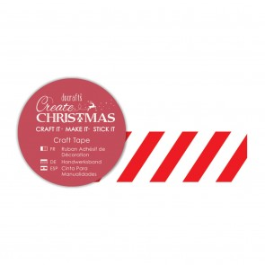 Craft Tape (5m) - Foil Candystripe