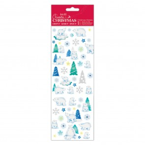Christmas Stickers - Polar Bear