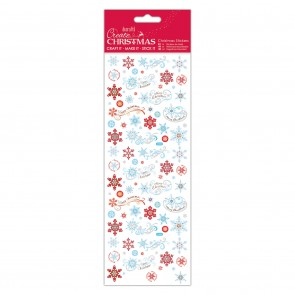 Christmas Stickers - Icy Snowflakes