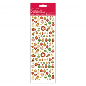 Christmas Stickers - Lustre Baubles
