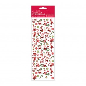 Christmas Stickers - Santa Candy Canes