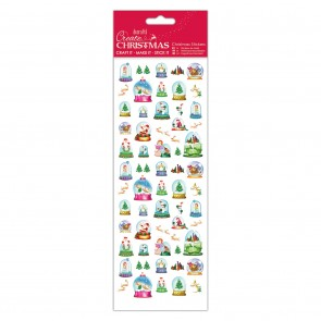 Christmas Stickers - Snow Globes