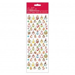 Christmas Stickers - Bauble Gift Tags