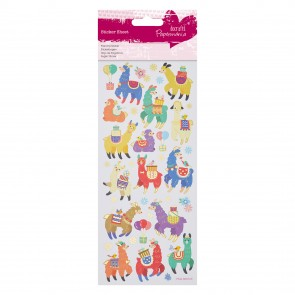 Foil Stickers - Fun Llama's