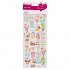 Foil Stickers - Ice Creams
