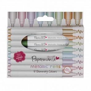 Metallic Pens (8pk) - Bullet Tip