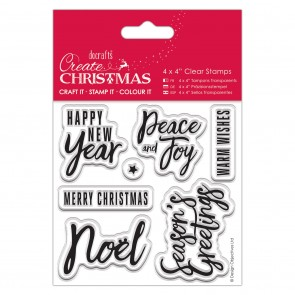 """4x4"""" Clear Stamp - Traditional Sentiments"""