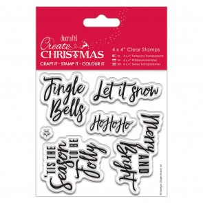 "4x4"" Clear Stamp - Contemporary Sentiments"