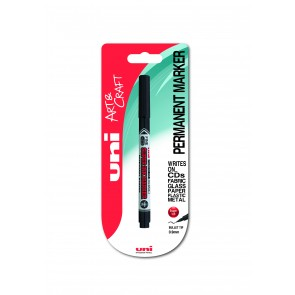 PNA-125 uni Super Ink Marker 1pc Blister Black