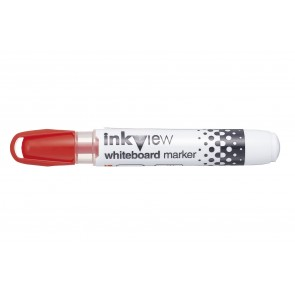 PWB-202 Inkview Whiteboard Marker Bullet Tip Red