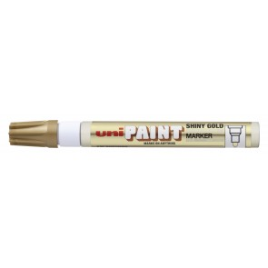 PX-20 Paint Marker Medium Bullet Tip Shiny Gold