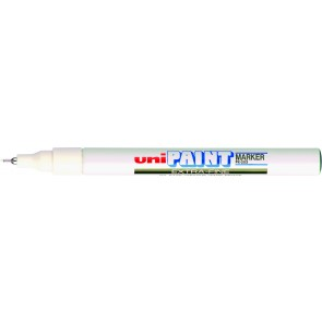 PX-203 Paint Marker Extra Fine Tip White