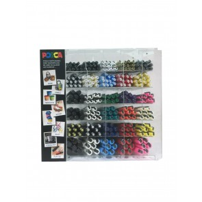 PC-330 POSCA Marker Counter 330pc Display