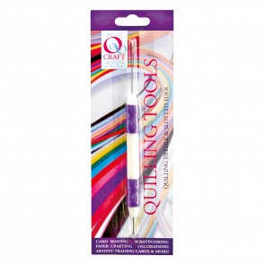 Quilling Needle & Slotted Tool - Soft Grip