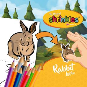 Shrinkles Slim Pack 30cm - Rabbit