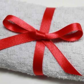 Double Face Satin Ribbon 6mm Red (5 Metres)