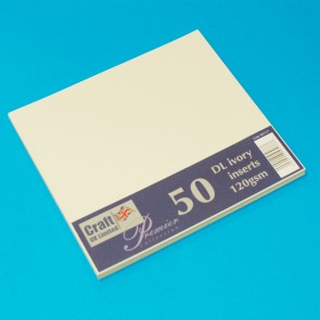 DL Inserts Ivory (50 Pack)
