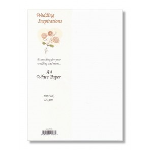 A4 Paper 120gsm White (100 Pack)