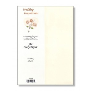 A4 Paper 120gsm Ivory (100 Pack)