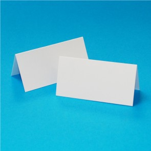 Table Setting Cards White (50 Pack)