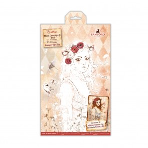 Colour Me In Mini Decoupage Pad - Santoro