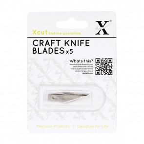 No. 1 Craft Knife Spare Blades (5pk)