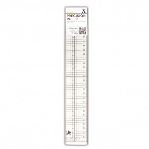 30cm Precision Ruler (Metal Edge Inlay)