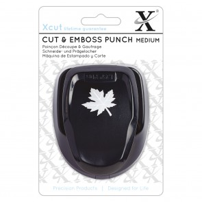 Cut & Emboss Punch Medium - Maple Leaf