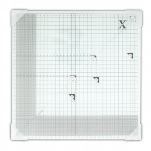 "13 x 13"" Tempered Glass Cutting Mat"