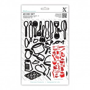 A5 Dies Set (26pcs) - Kitchen Utensils