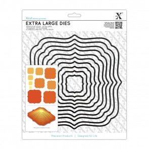Extra Large Nesting Dies (10pcs) - Square Parenthesis