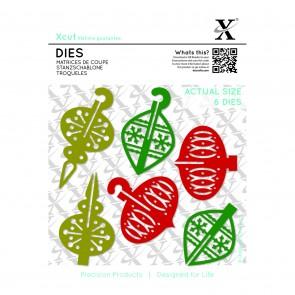 Dies (6pcs) - 3D Baubles