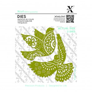 Dies (2pcs) - Ornate Dove