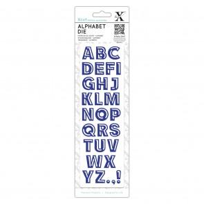 Alphabet Dies - Bevelled