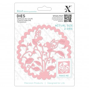 Die (2pcs) - Floral Fairies