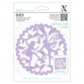 Die (2pcs) - Woodland Fairies