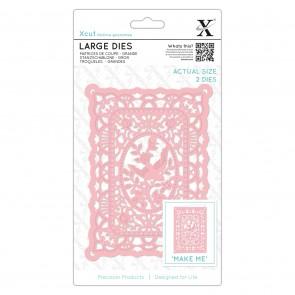 Large Dies (2pcs) - Lace Frame