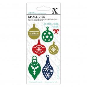 Small Dies (7pcs) - Mini Baubles