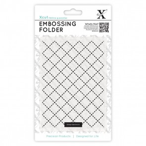 A6 Embossing Folder - Quilting