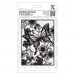 A6 Embossing Folder - Butterfly Meadow